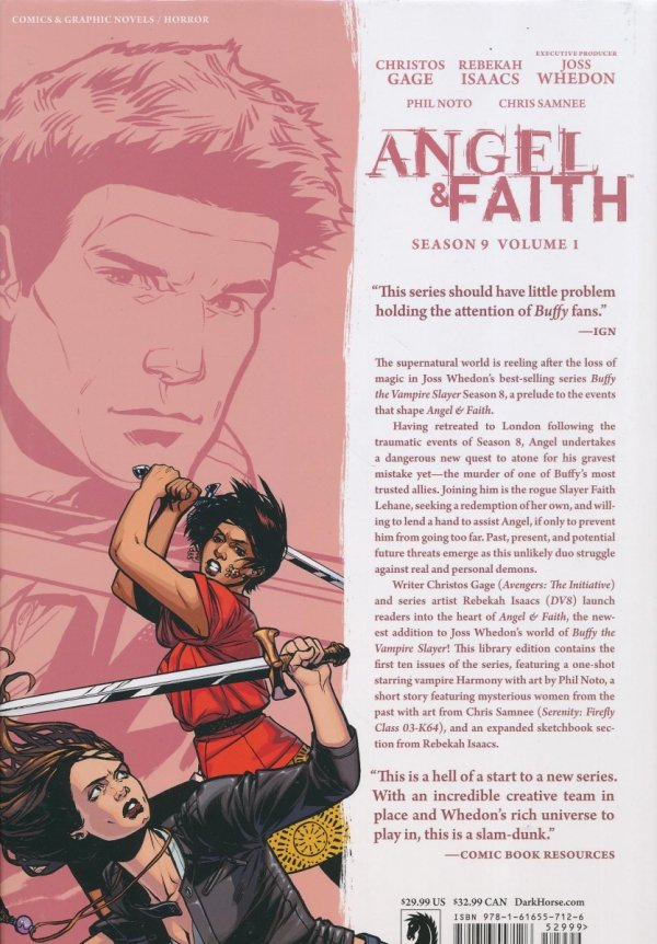 ANGEL AND FAITH SEASON NINE VOL 01 HC
