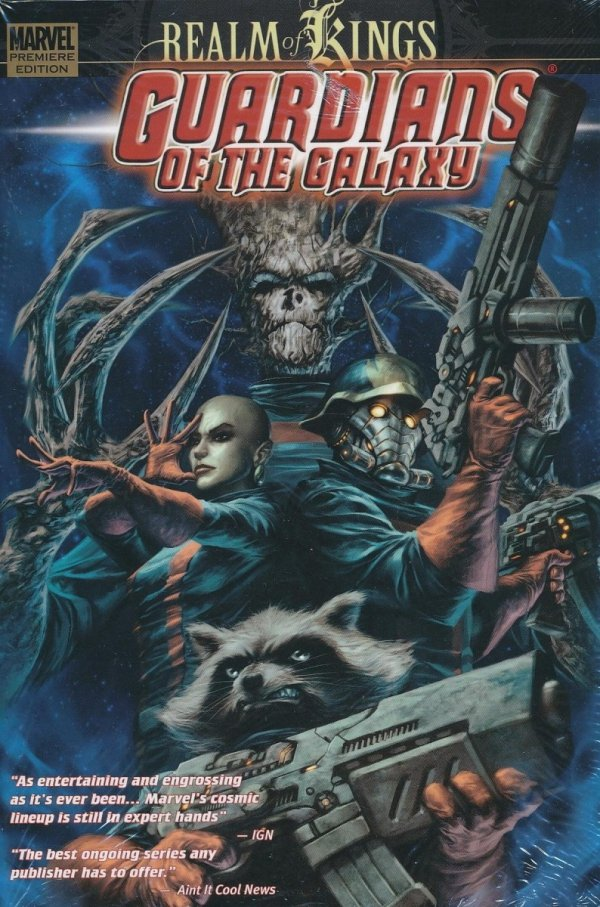 GUARDIANS OF THE GALAXY VOL 04 REALM OF KINGS HC *