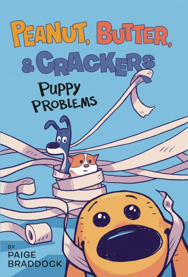PEANUT BUTTER & CRACKERS YR GN VOL 01 PUPPY PROBLEMS *
