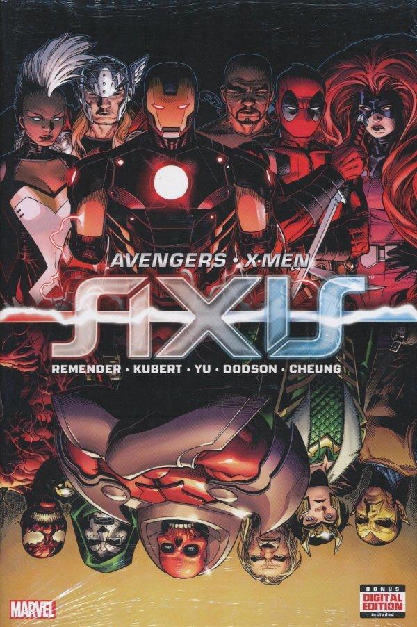 AVENGERS X-MEN AXIS HC