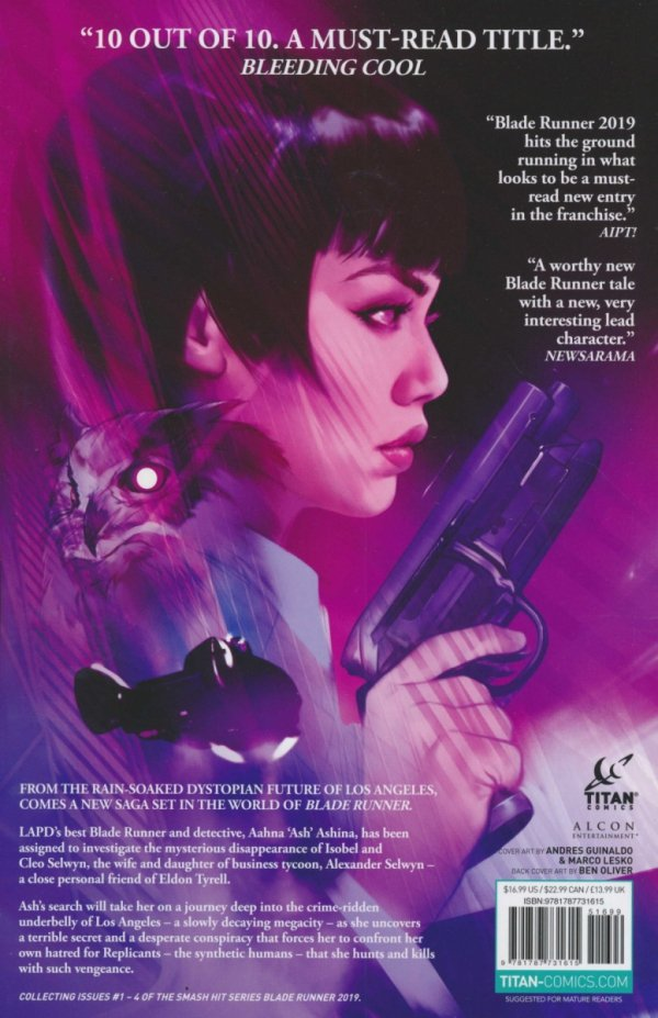 BLADE RUNNER 2019 TP VOL 01 WELCOME TO LOS ANGELES *