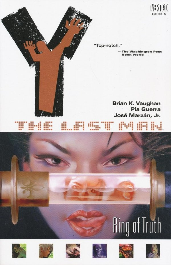 Y THE LAST MAN VOL 05 RING OF TRUTH SC