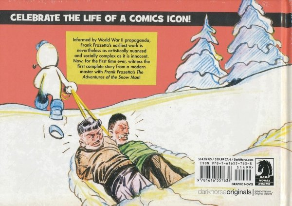 FRANK FRAZETTA ADVENTURES OF SNOW MAN HC *
