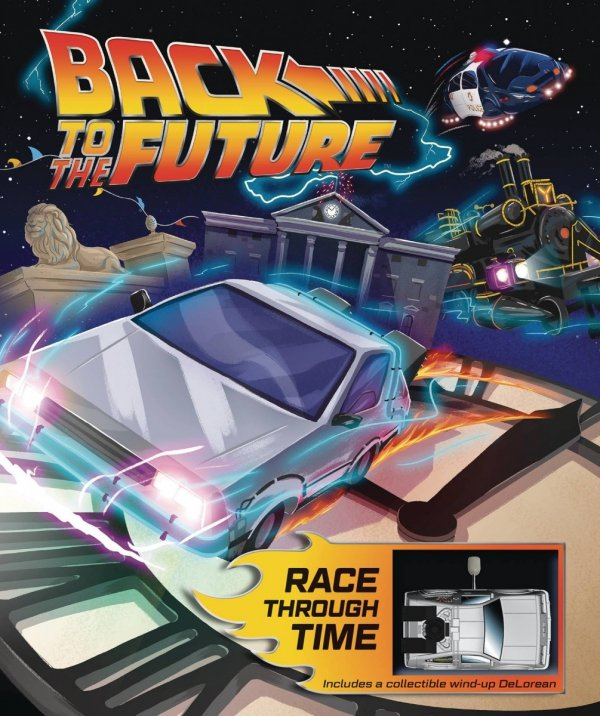 BACK TO THE FUTURE RACE THROUGH TIME HC *