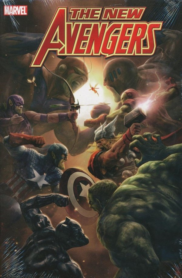 NEW AVENGERS VOL 05 HC (BRIAN MICHAEL BENDIS) (OVERSIZED)
