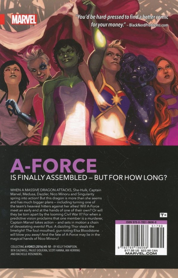 A-FORCE VOL 02 RAGE AGAINST THE DYING OF THE LIGHT SC (SALEństwo)