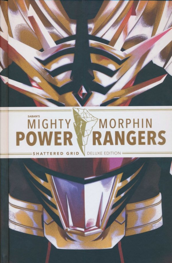 MIGHTY MORPHIN POWER RANGERS SHATTERED GRID HC