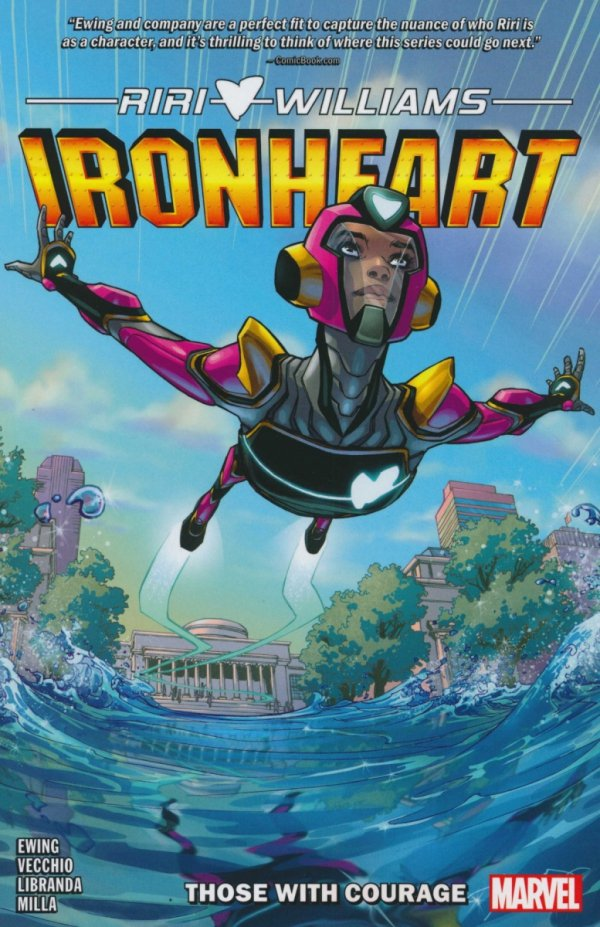 IRONHEART VOL 01 THOSE WITH COURAGE SC