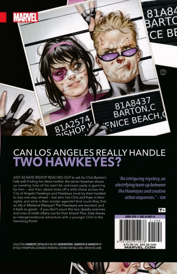 HAWKEYE KATE BISHOP VOL 03 FAMILY REUNION SC