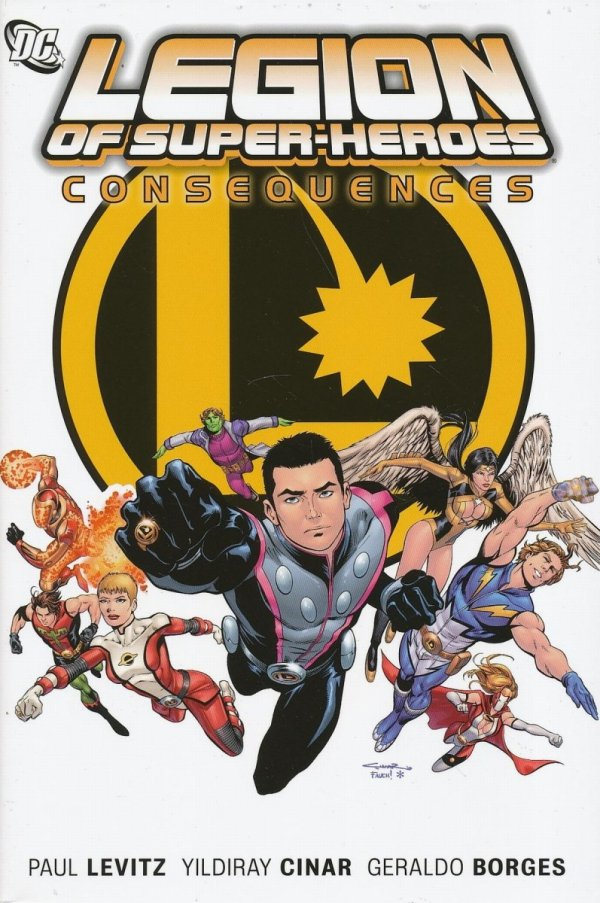 LEGION OF SUPER-HEROES CONSEQUENCES HC
