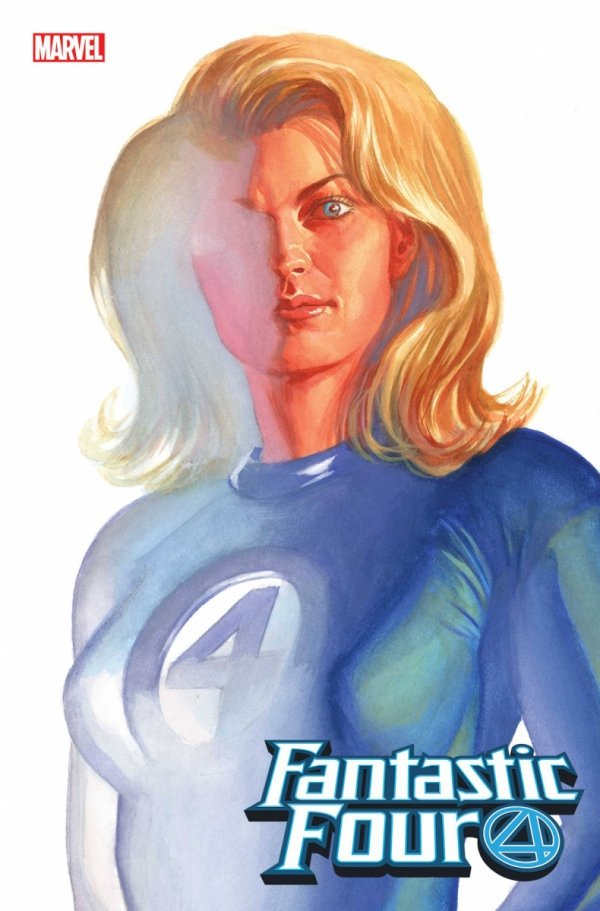 FANTASTIC FOUR #24 ALEX ROSS INVISIBLE WOMAN TIMELESS VAR *