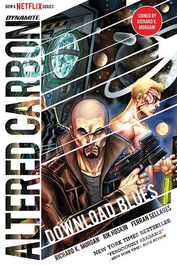ALTERED CARBON DOWNLOAD BLUES HC SGN ED **