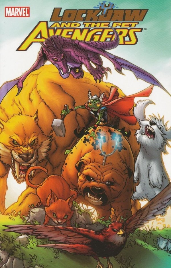 LOCKJAW AND THE PET AVENGERS SC *
