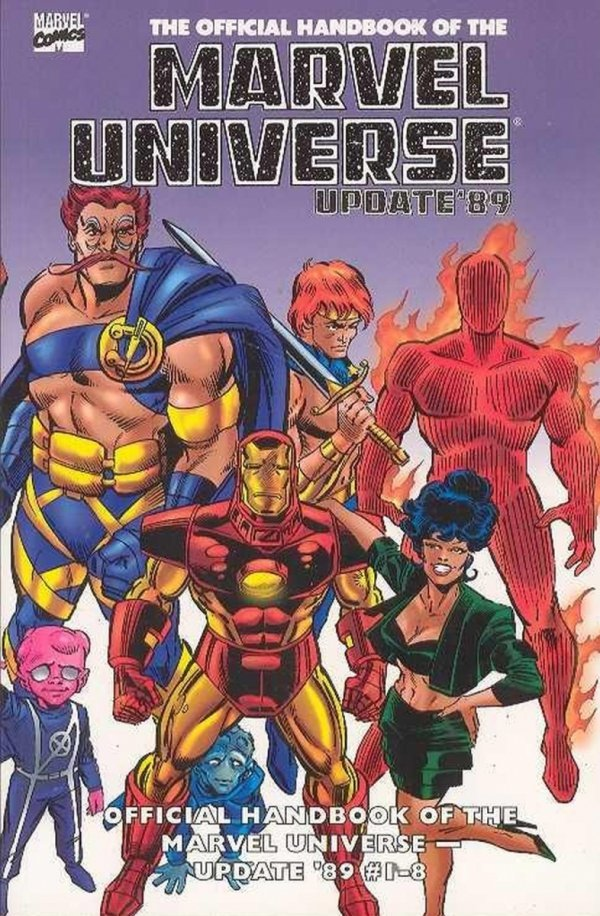 ESSENTIAL THE OFFICIAL HANDBOOK OF THE MARVEL UNIVERSE UPDATE 89 VOL 01 SC *
