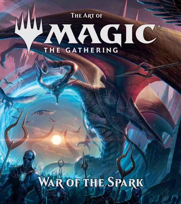 ART OF MAGIC THE GATHERING HC WAR OF THE SPARK *