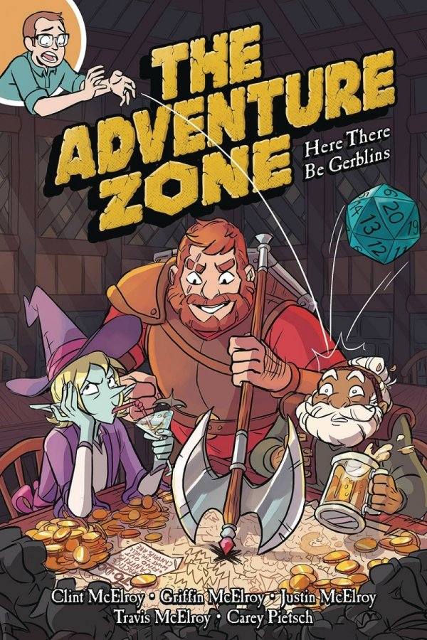 ADVENTURE ZONE GN VOL 01 HERE THERE BE GERBLINS *