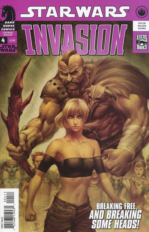 STAR WARS INVASION #4