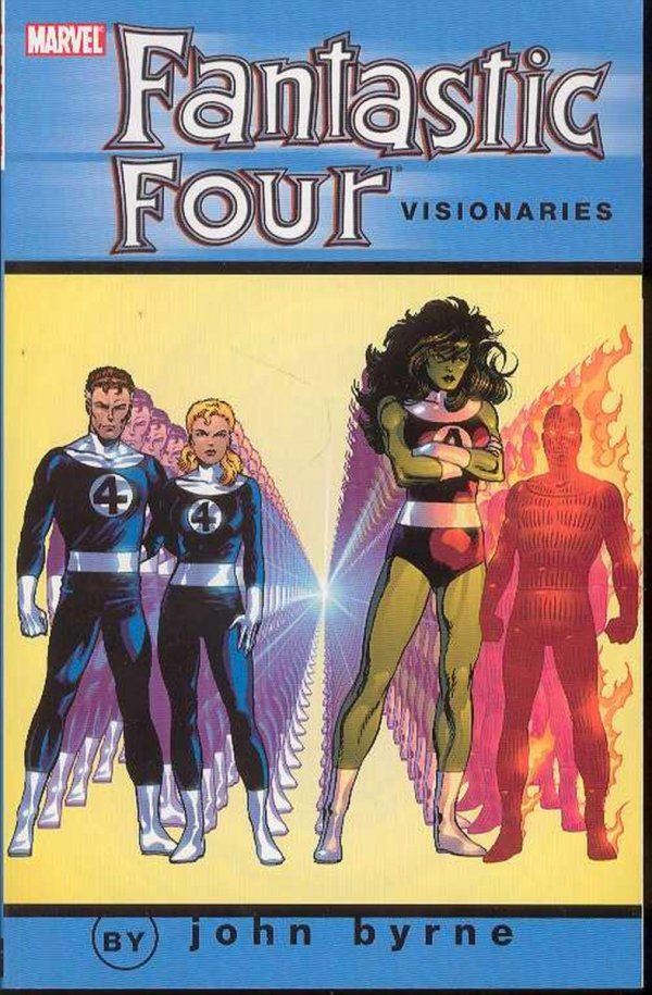 FANTASTIC FOUR VISIONARIES BYRNE VOL 06 SC *