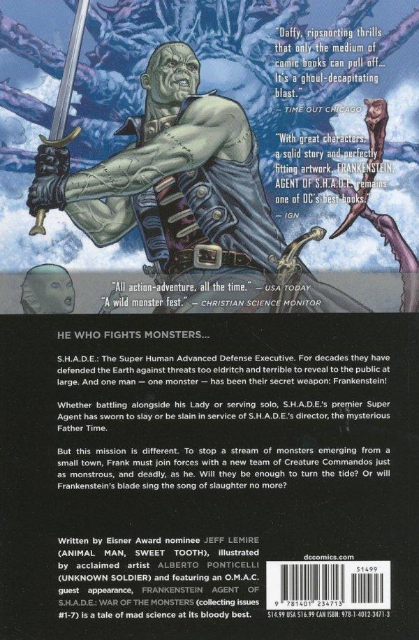 FRANKENSTEIN AGENT OF SHADE VOL 01 WAR OF THE MONSTERS SC (SUPERCENA)