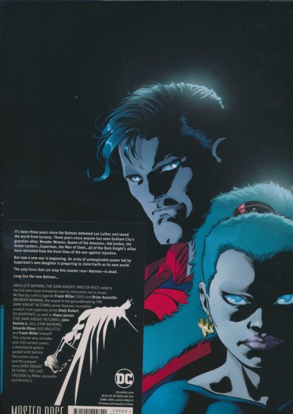 ABSOLUTE BATMAN THE DARK KNIGHT MASTER RACE HC (BOX)