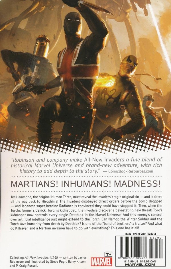 ALL NEW INVADERS TP VOL 03 MARTIANS ARE COMING