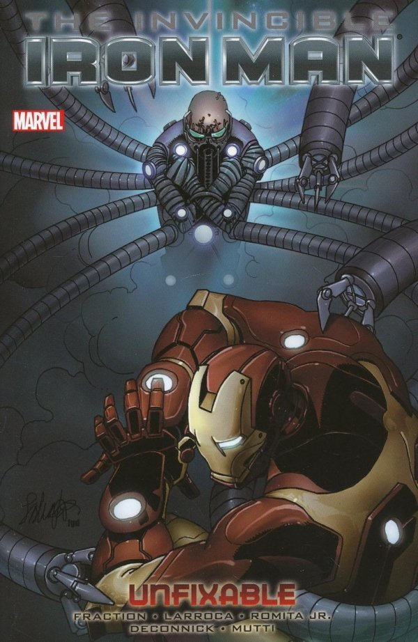 INVINCIBLE IRON MAN VOL 08 UNFIXABLE SC