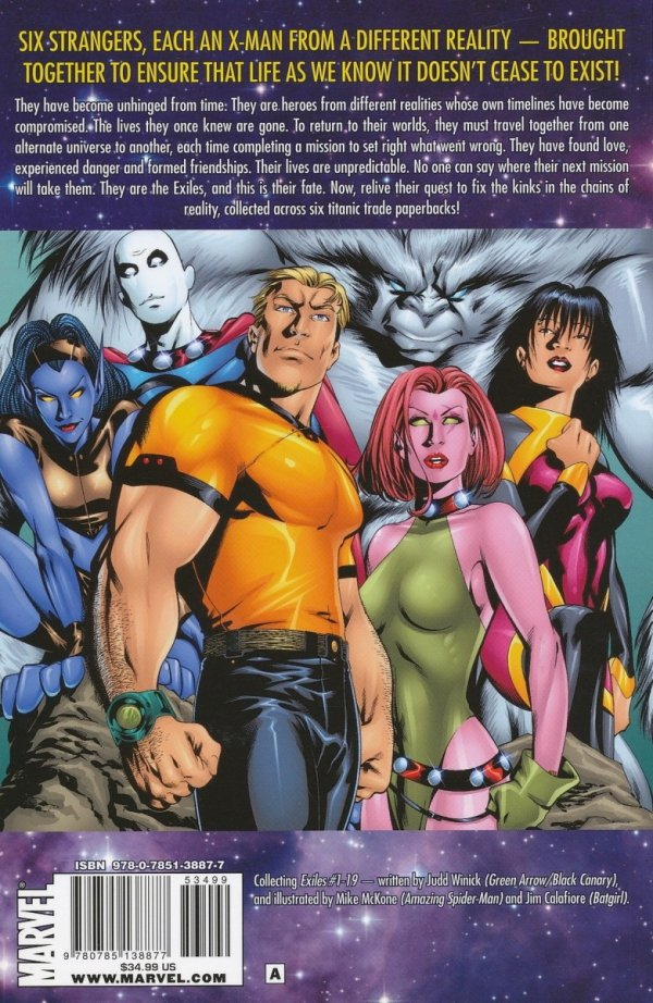EXILES ULTIMATE COLLECTION VOL 01 SC *