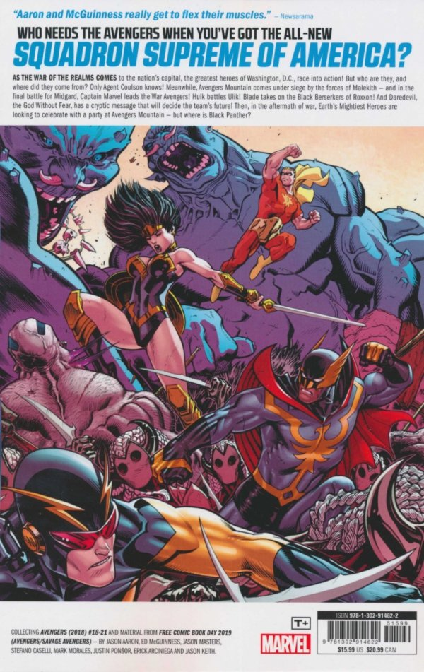 AVENGERS VOL 04 WAR OF THE REALMS SC **