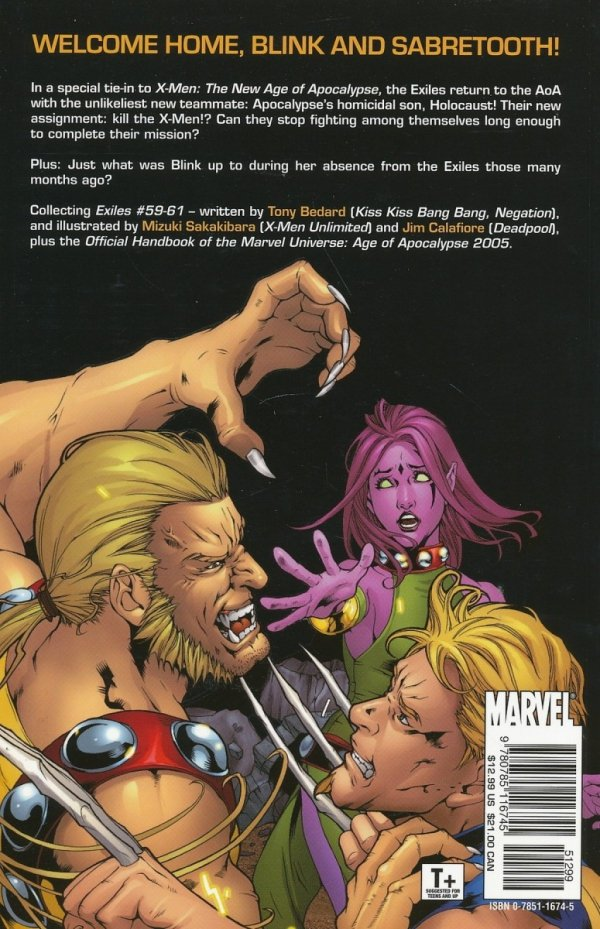EXILES VOL 10 AGE OF APOCALYPSE SC