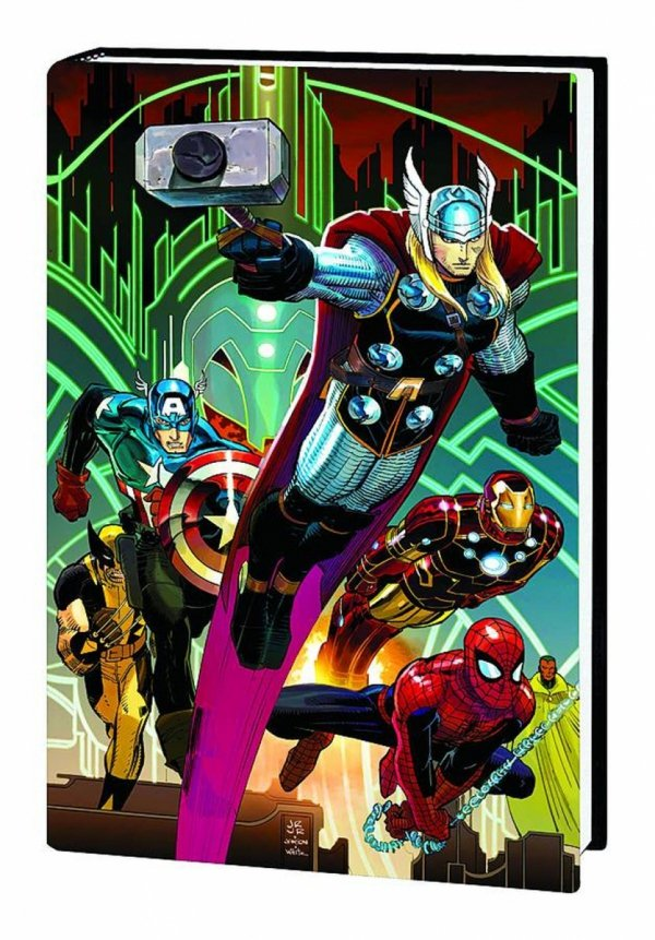 AVENGERS BY BRIAN MICHAEL BENDIS HEROIC AGE HC (VARIANT COVER) **