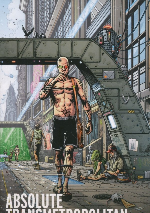ABSOLUTE TRANSMETROPOLITAN VOL 02 HC (BOX)