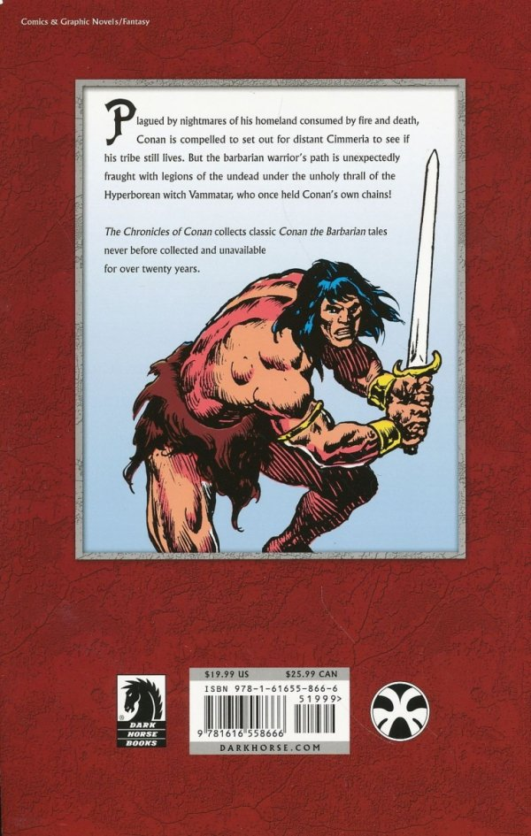CHRONICLES OF CONAN VOL 32 THE SECOND COMING OF SHUMA-GORATH AND OTHER STORIES SC **
