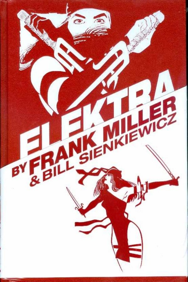 ELEKTRA BY MILLER AND SIENKIEWICZ OMNIBUS HC (OLD EDITION) (STANDARD COVER) *