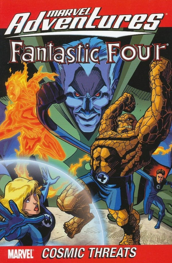 MARVEL ADVENTURES FANTASTIC FOUR VOL 04 SC (DIGEST)
