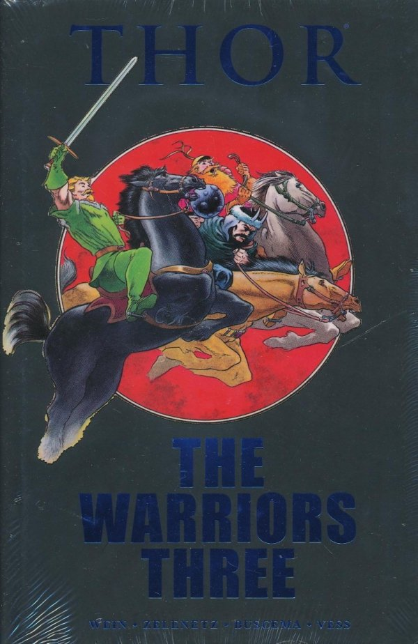 THOR THE WARRIORS THREE HC (STANDARD COVER)