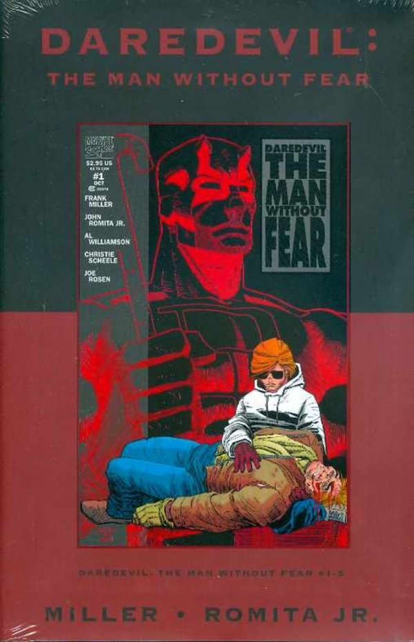 DAREDEVIL THE MAN WITHOUT FEAR HC (VARIANT COVER) *
