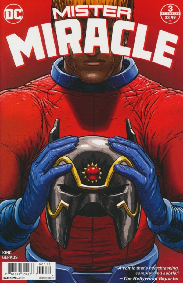 MISTER MIRACLE #3 2ND PTG