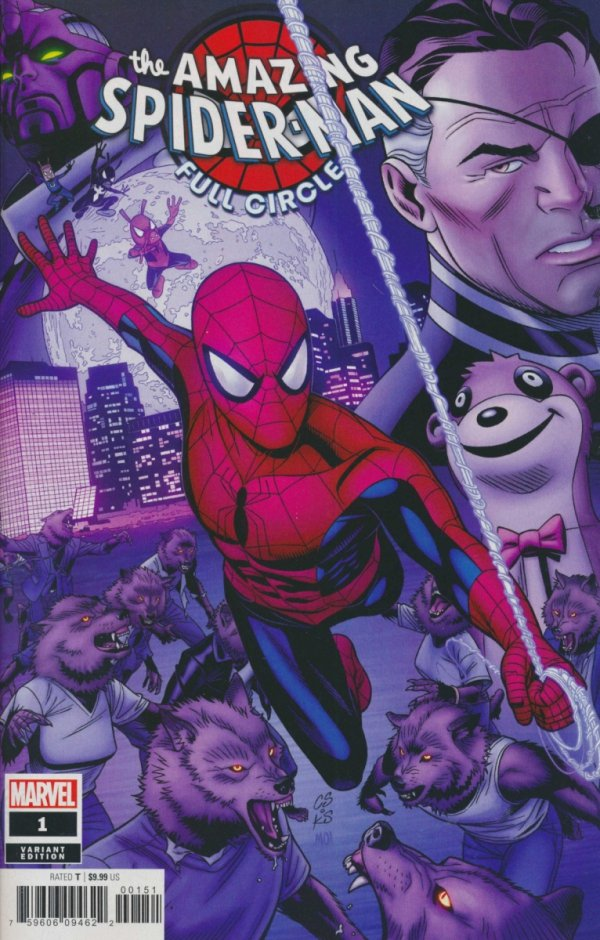 AMAZING SPIDER-MAN FULL CIRCLE #1 SPROUSE VAR