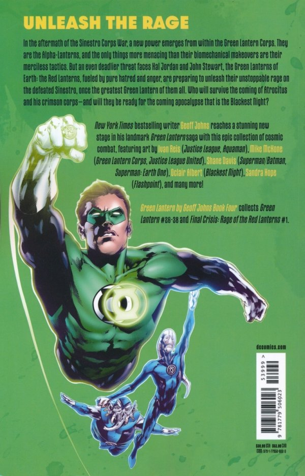 GREEN LANTERN BY GEOFF JOHNS BOOK 04 TP