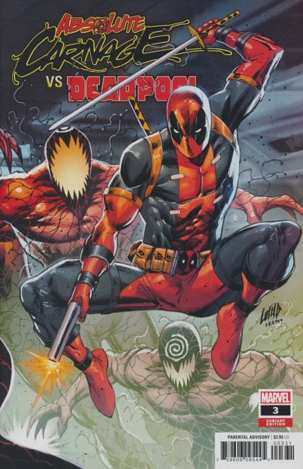 ABSOLUTE CARNAGE VS DEADPOOL #3 LIEFELD CONNECTING VAR