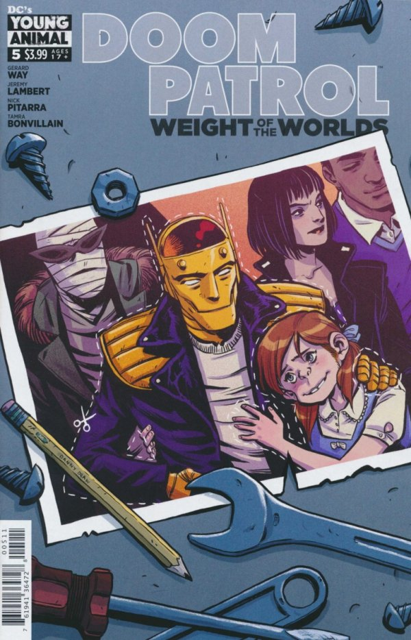 DOOM PATROL WEIGHT OF THE WORLDS #5