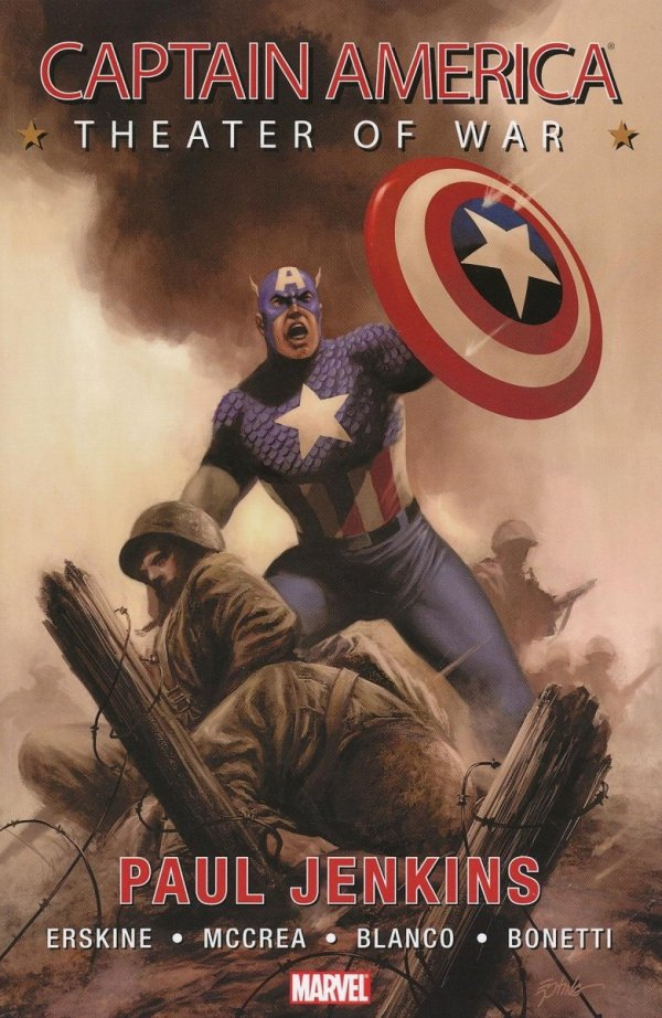 CAPTAIN AMERICA THEATER OF WAR SC