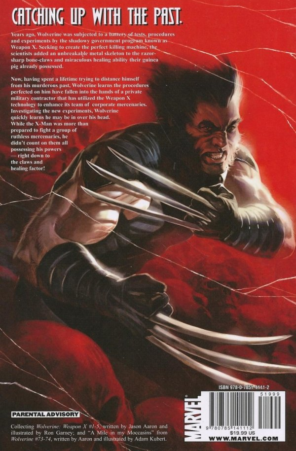 WOLVERINE WEAPON X VOL 01 ADAMANTIUM MEN SC