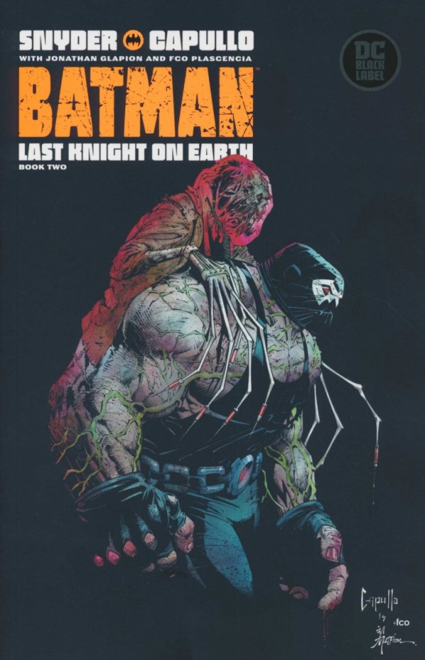 BATMAN LAST KNIGHT ON EARTH #2