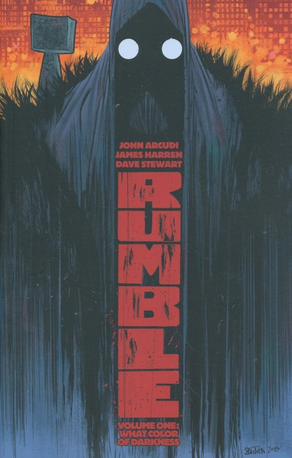 RUMBLE VOL 01 WHAT COLOR OF DARKNESS SC