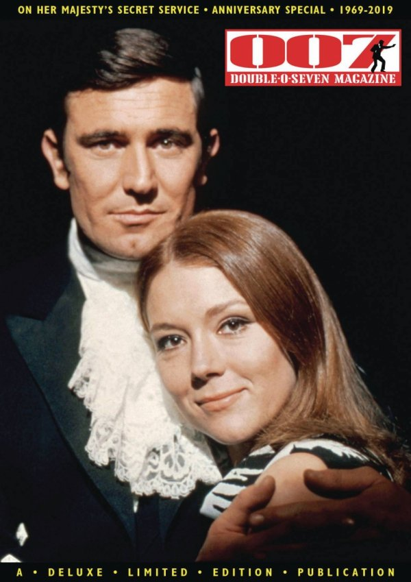 007 MAGAZINE SPECIAL ON HER MAJESTY SECRET SERVICE 50TH ANN *