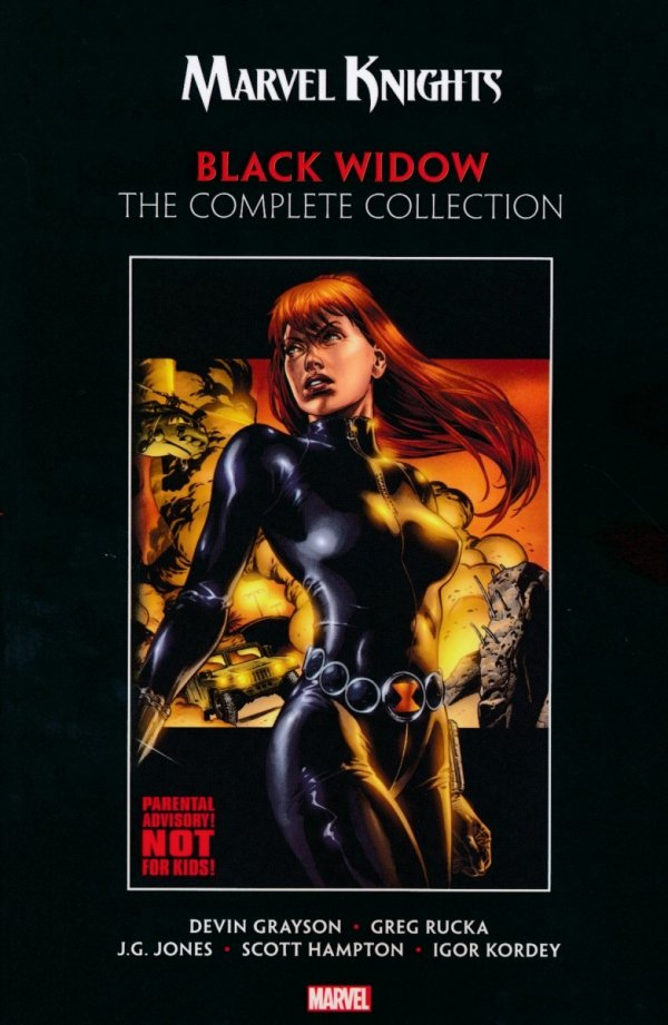 MARVEL KNIGHTS BLACK WIDOW BY GRAYSON & RUCKA TP