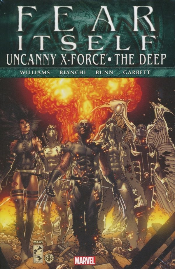 FEAR ITSELF UNCANNY X-FORCE THE DEEP HC (SUPERCENA)