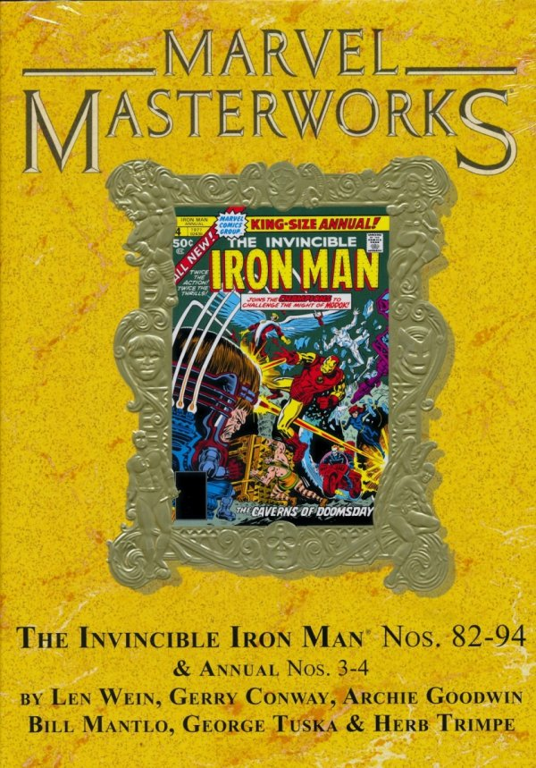 MARVEL MASTERWORKS VOL 266 THE INVINCIBLE IRON MAN HC