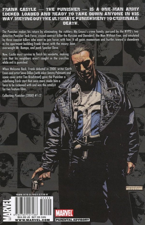 PUNISHER WELCOME BACK FRANK SC